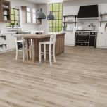 Avant Garde Luxury Vinyl Plank with attached XPE underlayment by Engineered Floors