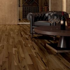 "Exotic Engineered Hardwood, Brazilian Hickory Floor (3/8"" Thick, 3-1/4"" Wide) by IndusParquet"