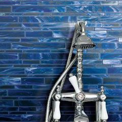 Catwalk Glass Mosaics, Color Blue Ballet, by Marazzi USA