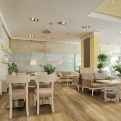 "COREtec ro Plus-Enhanced 7"" Plank, color Edinburgh Oak room by US Floors"