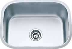Undermount Jumbo Single Bowl Stainless Steel Kitchen Sink