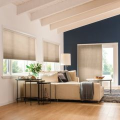 Cellular Shades Light Filtering, Room Scene, by Graber
