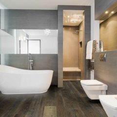 Triumph™ Lux Haus II Luxury Vinyl Plank with attached underlayment by Engineered Floors