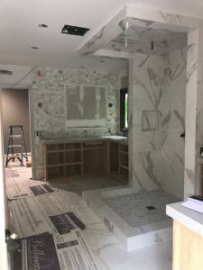 Full Bathroom Remodeling, April 2019