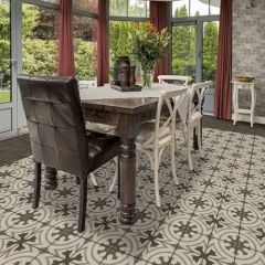 Quartetto Glazed Porcelain Floor Tile, Daltile