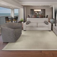 Gobi, Cream Hand Loom Wool Broadloom, by Stanton